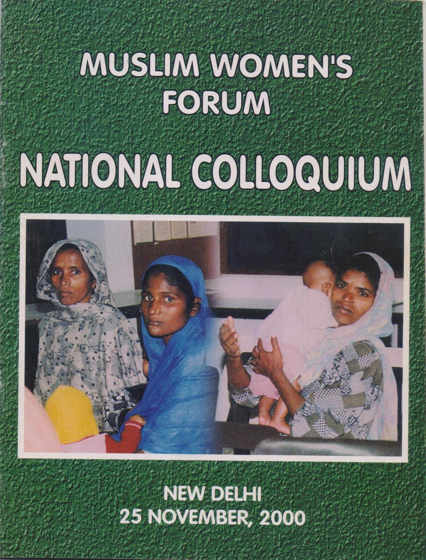 National Colloquium on Muslim Women's Rights