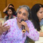 Pamela Philipose, Senior Journalist,  Sheba George, SAHR WARU, Ahmedabad