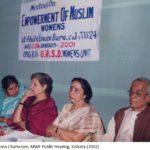 MWF Public Hearing Kolkata 2002